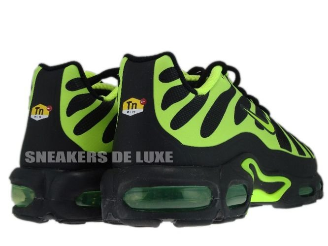 English: 483553-070 Nike Air Max Plus TN 1.5 Hyperfuse Black/Volt-Black 483553-070 Nike Air Max Plus TN Tuned