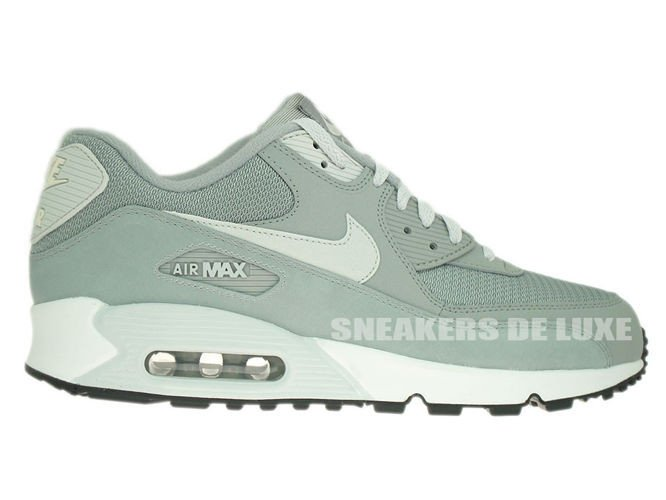537384-028 Nike Air Max 90 Essential Base Grey/Light Base Grey-Sail ...