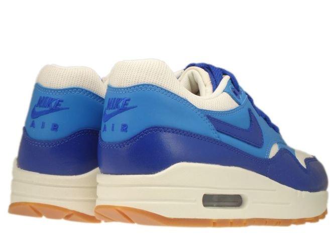 English: 555284-105 Nike Air Max 1 Vintage Sail/Hyper Blue-Blitz ...