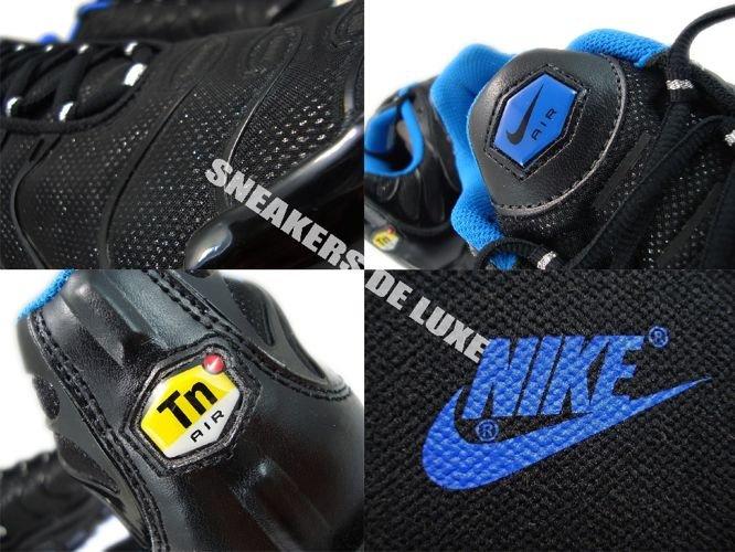 Nike Air Max TN Black Metallic Silver White