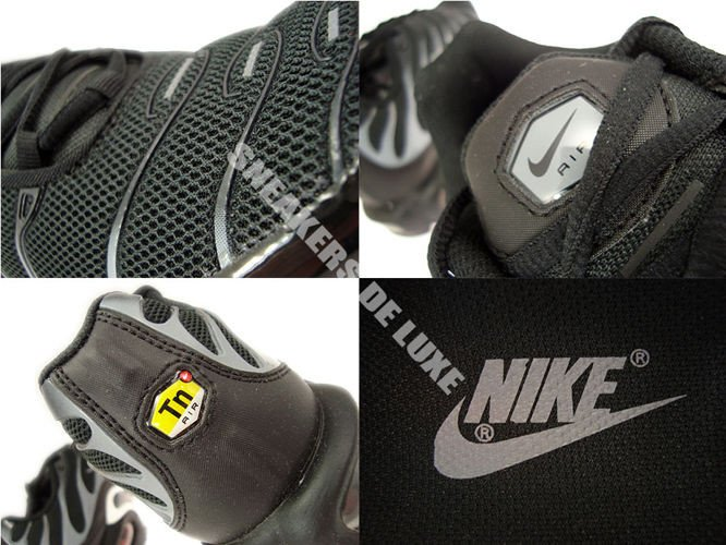 nike shox la flèche des hommes - 647315-002 Nike Air Max Plus TN 1 Black / Black-Cool Grey 647315 ...