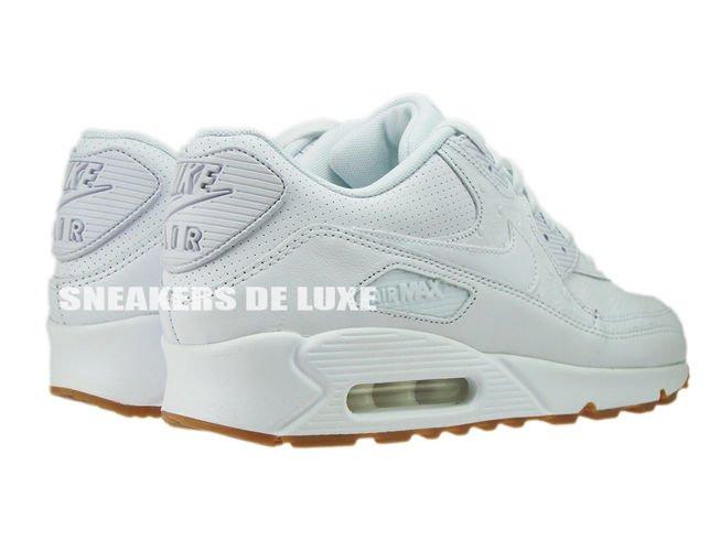 ... 705012-111 Nike Air Max 90 Leather PA White/White-Gum Light Brown
