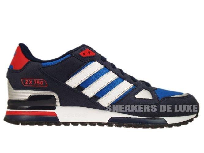 adidas originals zx 750 blue white red