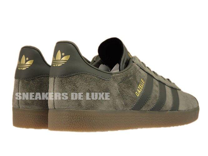 Adidas Originals Gazelle Shoes Utility Grey Gum
