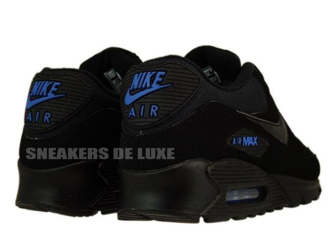 nike air max 90 blue black