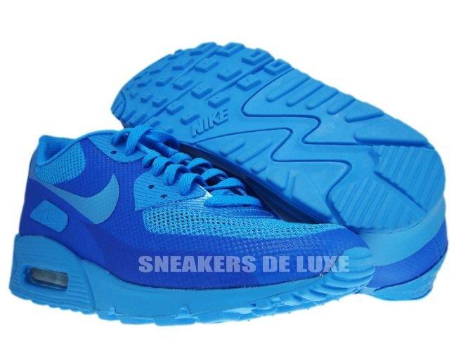 5d07d31700 Nike Air Max 90 Premium Hyperfuse Blue Glow/Blue Glow 454446-
