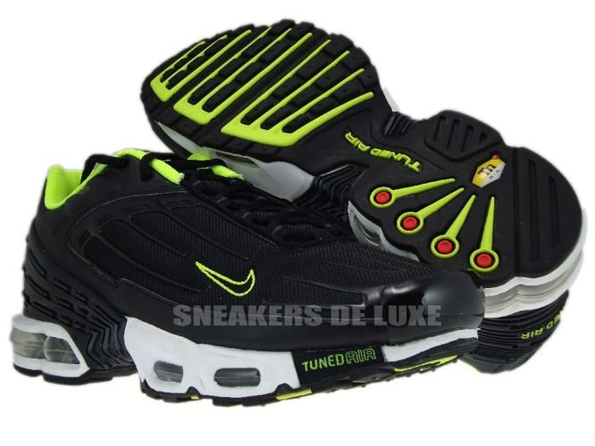 english nike air max plus tn iii 3 black volt anthracite. Black Bedroom Furniture Sets. Home Design Ideas