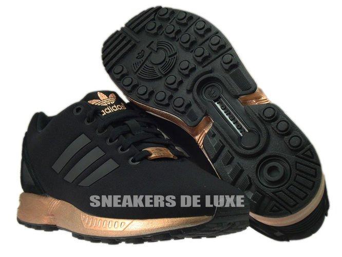 Adidas Zx Flux Copper Metallic Model S78977
