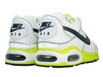 343886-122 Nike Air Max Skyline White/Monsoon Blue-Cyber