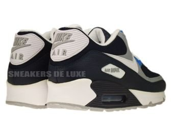 Nike Air Max 90 Obsidian/Wolf Grey-Photo Blue 325018-419