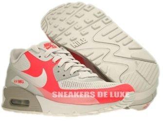 Nike Air Max 90 Premium Hyperfuse Medium Grey/Neutral Grey-Solar Red 454446-016