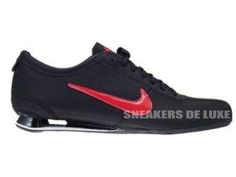 316800-060 Nike Shox Rivalry Black/Challenge Red-Black
