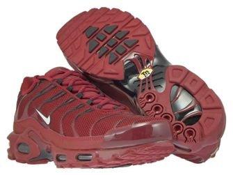 852630-602 Nike Air Max Plus TN 1 Team Red/White-Black